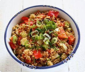 sommerlicher Couscous-Salat als perfekte Beilage zum Grillen   The Vegetarian Diaries