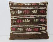 24x24 kilim pillow midcentury euro sham extra large pillow 24x24 pillowcase 60x60 cushion cover oversized throw pillow big pillowcase 28858