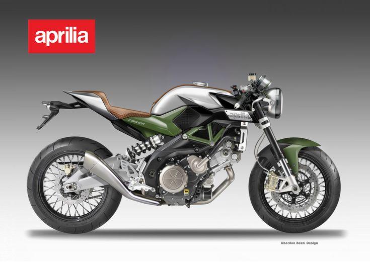 aprilia 750 cafe'racer project | motorcykel | pinterest