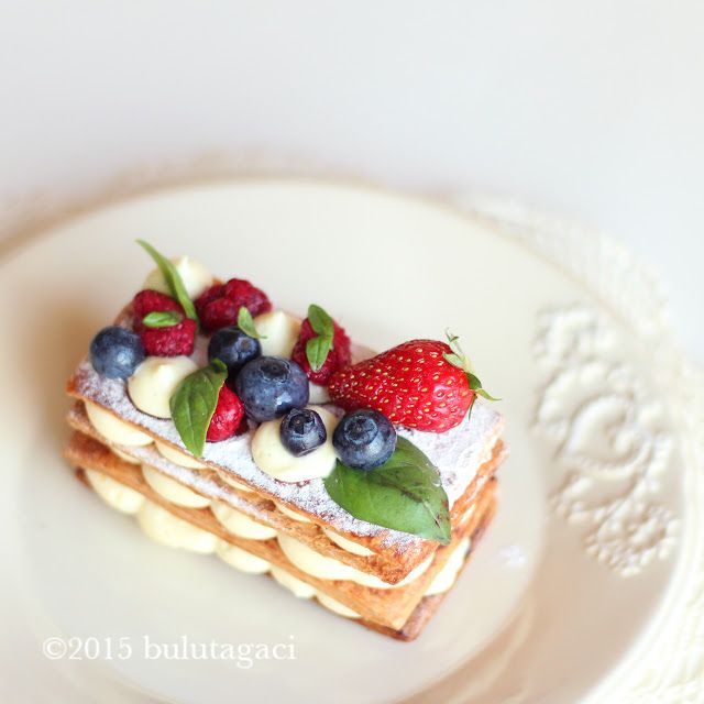 bulutağacı: Mille feuille - Milföy Pasta