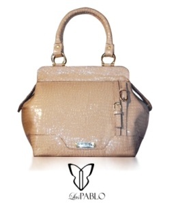 Bolso charol italiano - herraje bañado oro  handbags
