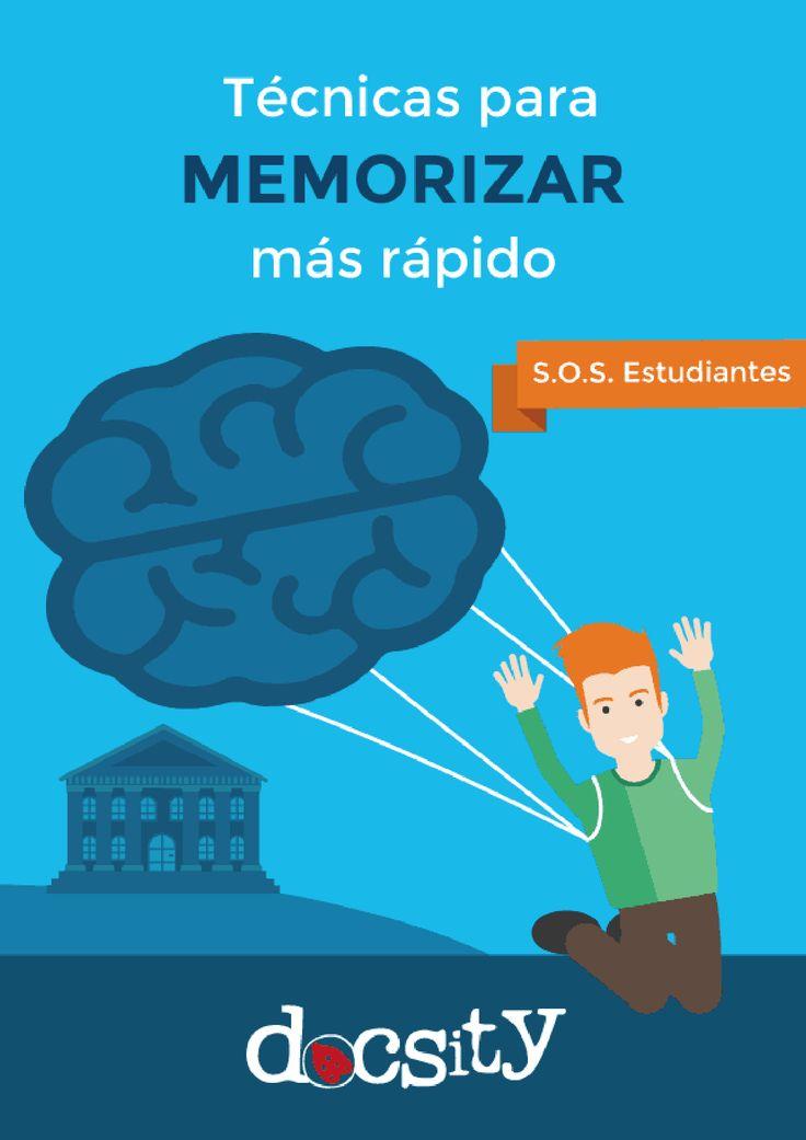 Descarga gratis el eBook gratuito con las técnicas para memorizar más rápido, mejoras tus habilidades de memoria en pocos pasos, Guías de Sociología de la Educación. Universidad de Murcia
