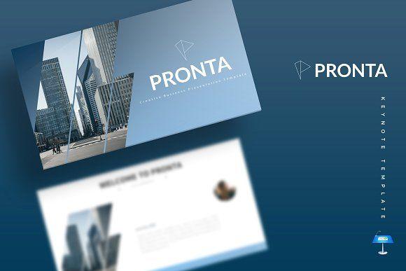 Pronta Keynote Template By Aqr Studio On Creativemarket