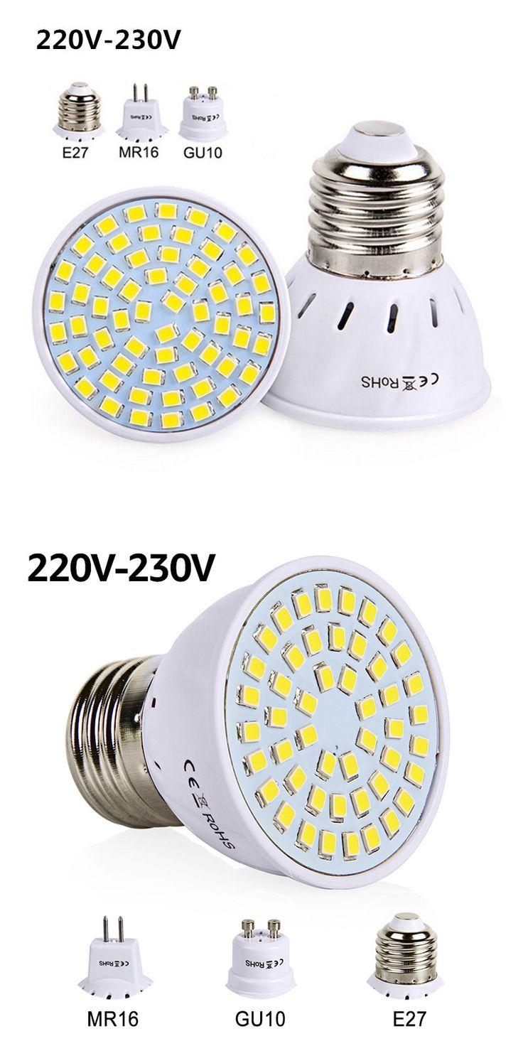 Best 25 mr16 led bulbs ideas on pinterest shelves around led bulb e27 gu10 mr16 led lamp smd 2835 220v 230v spotlight 48 60 80 leds parisarafo Choice Image