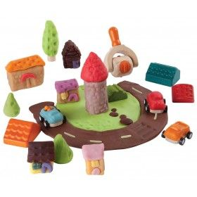 Şehrini Yarat Hamur Seti (Build-A-Town Dough Set)