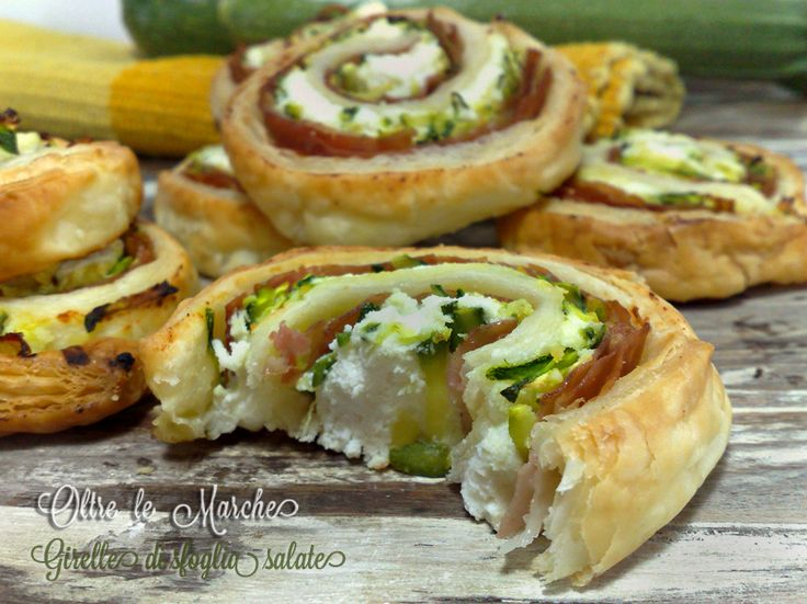 Le girelle di Pasta Sfoglia salate con zucchine e mortadella sono sfiziose e veloci, per portare in tavola un piatto gustoso. Potete prepararle in anticipo.