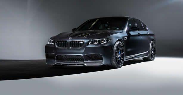 BMW M5 gets new looks from Vorsteiner - Speed Carz