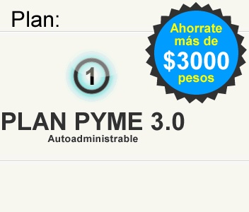 PLAN PYME 3.0 AUTOADMINISTRABLE    http://www.supaginagratis.com.ar/plan-pyme-3-autoadministrable/