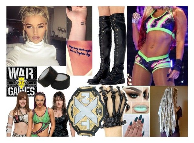 """""""[] Ava - Winning NXT Women's Championship At WarGames []"""" by makhinegankaller14 ❤ liked on Polyvore"""