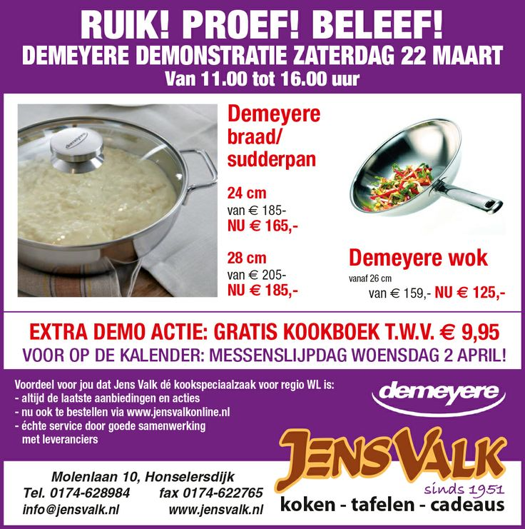 Demeyere: het merk dat elke chef gebruikt!