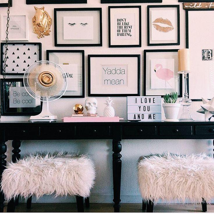 Sorority house decor