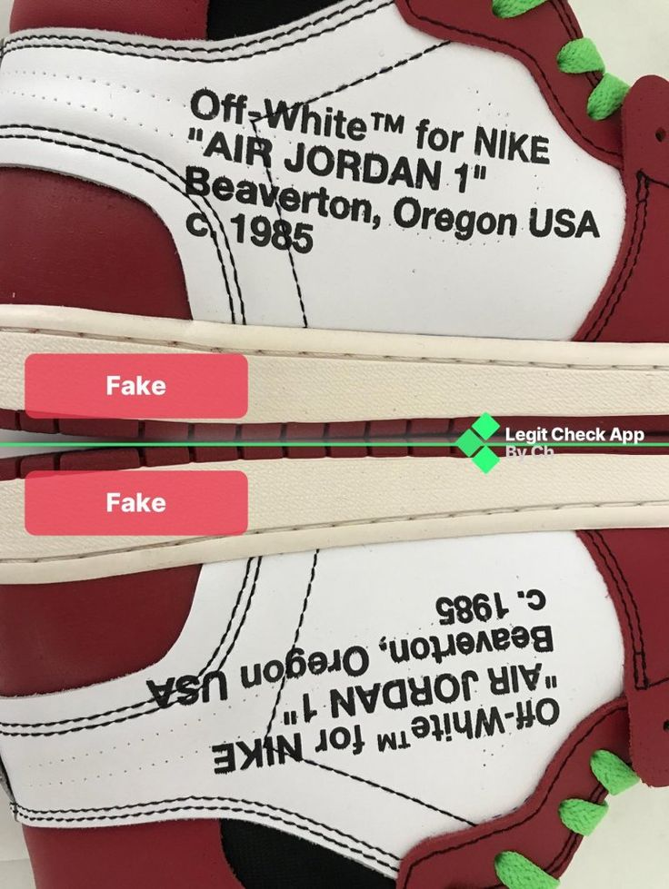 How To Spot Fake OffWhite Air Jordan 1 Chicago Real Vs