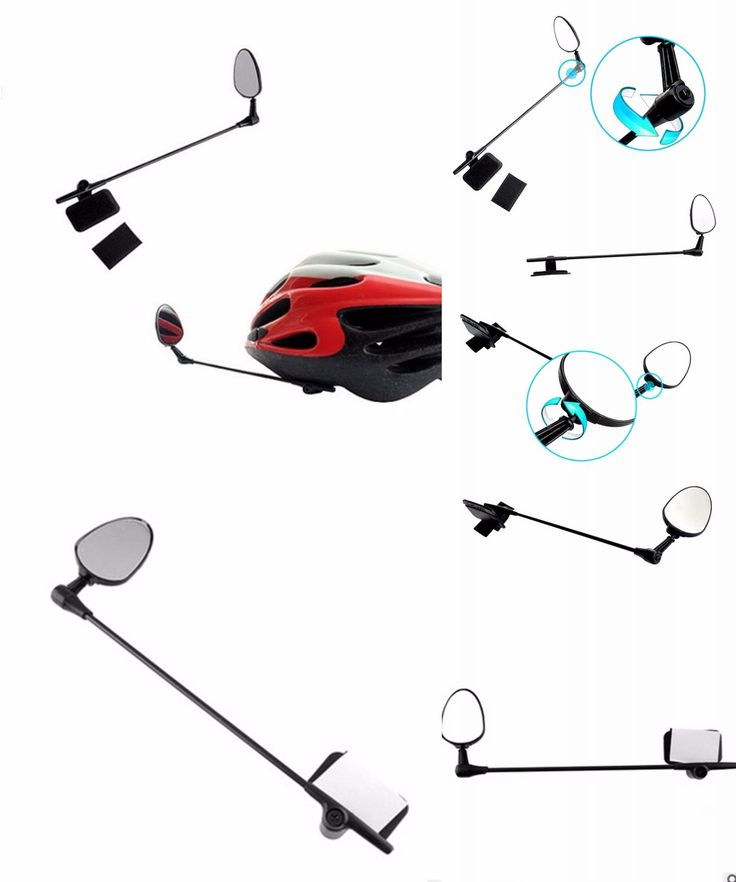 [Visit to Buy] Bike Bicycle Motorbike MTB Cycling Helmet Rear View Back Rearview Safety Mirror Bike MTB Accessories free shipping #Advertisement