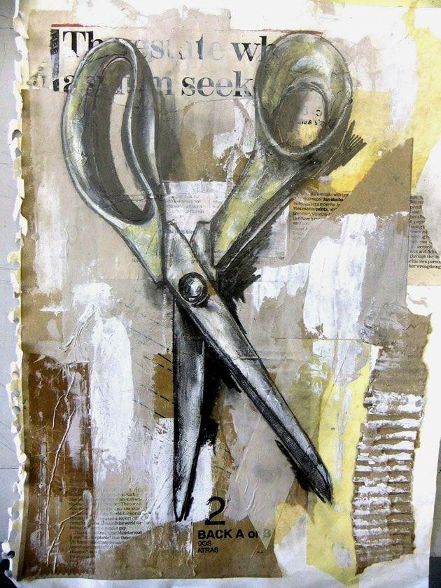 still life ideas - art equipment and tools