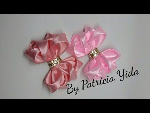 Laço Origami  inspirado no vídeo da Dani Ferrari  DY  By Patrícia Yida - YouTube