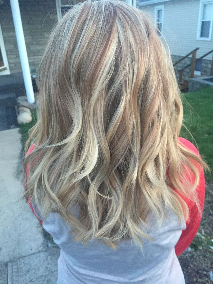 Honey Blonde Highlights With Lowlights Hair And Makeup