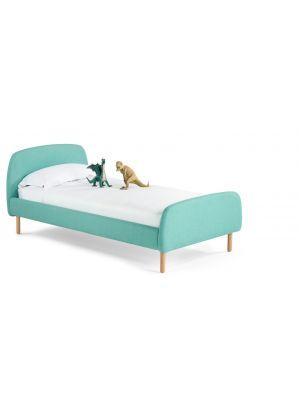 Jonah+eenpersoonsbed+90+x+190+cm,+mediterraans+blauw - Bed for kids - Blue