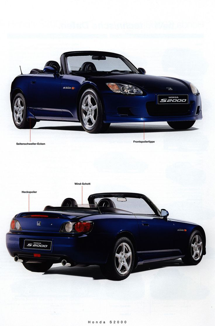 https://flic.kr/p/FzzWGS | Honda S2000; 1999_5 | car brochure by worldtravellib World Travel library