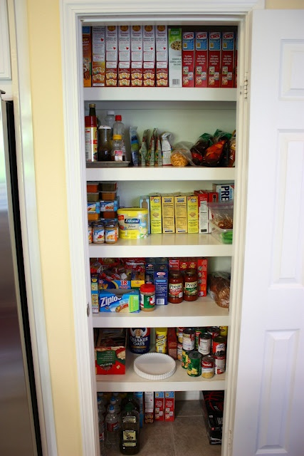 Pantry organization organization ideas pinterest for Pantry ideas for a small kitchen