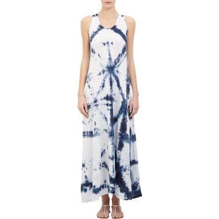 Gilda Midani Tie-Dye Long Trapeze Dress at Barneys.com