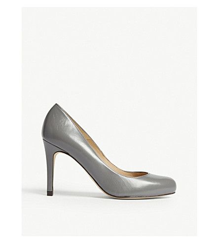LK BENNETT | Stila leather courts #Shoes #Heels #Courts #High heel #LK BENNETT