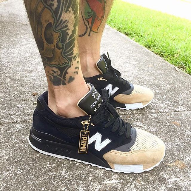 #ALLDESIGNERSTAPLES Pinterest - @houstonsoho | @newbalance 998 #SNEAKERS #HEAT