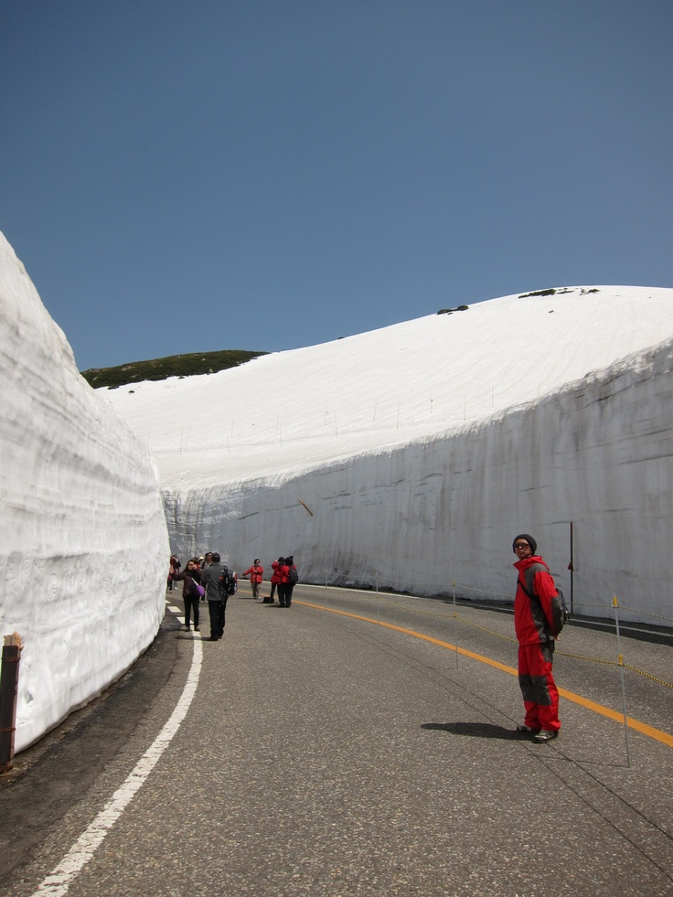 Tateyama Kurobe~snow wall