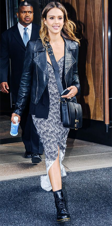 Look of the Day - June 14, 2014 - Jessica Alba from #InStyle