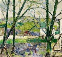 Landscape spring by Poul Ekelund