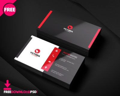 Stylish Corporate Business Card Business Journal Business Card