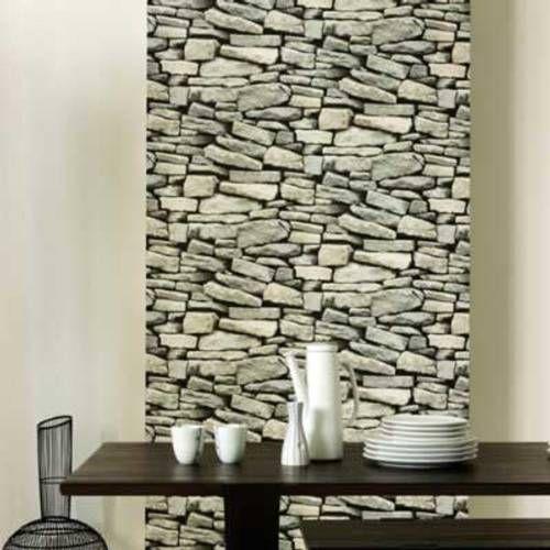 M s de 25 ideas incre bles sobre papel tapiz de piedra en - Pared imitacion piedra ...