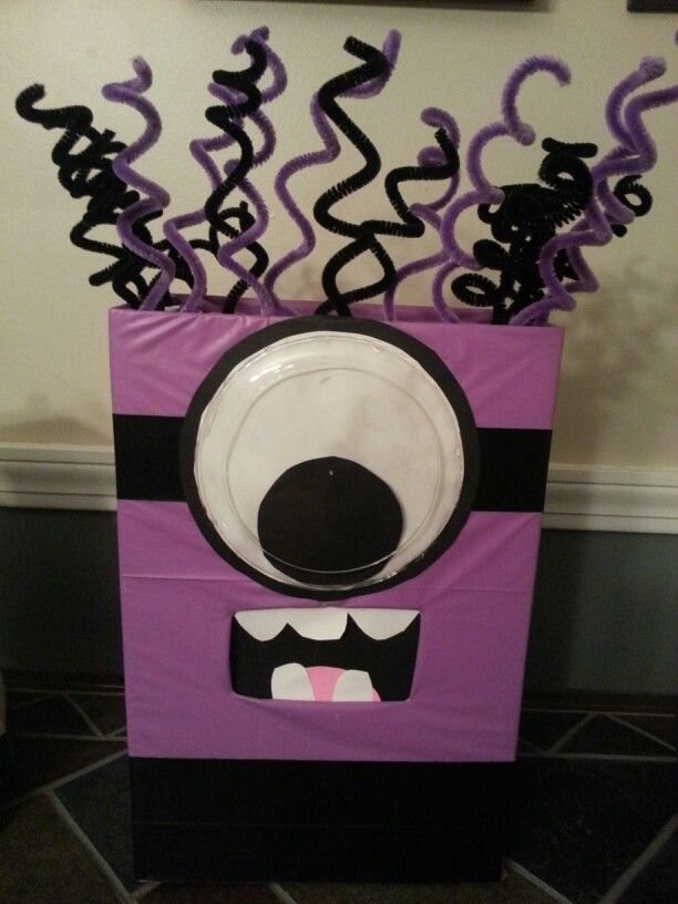 Evil Minion Valentine Box Valentines Day