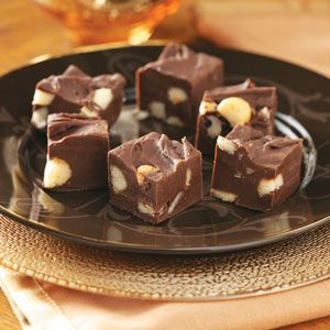 Macadamia Fudge Recipe - try milk chocolate chips instead of semisweet