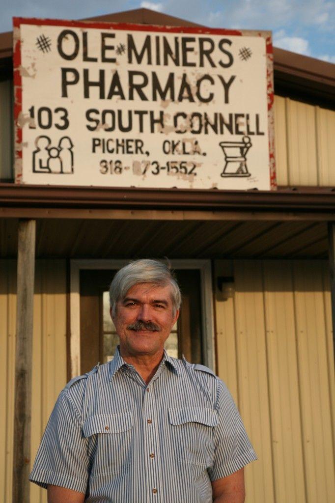 Picher Oklahoma just a few miles