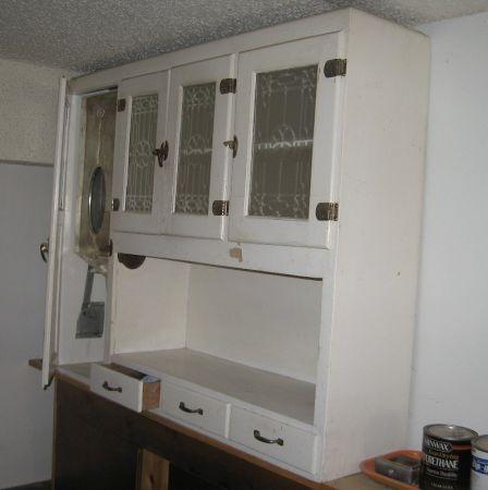 hoosier cabinet top only kitchen pinterest hoosier cabinet