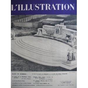 L'Illustration - n°4990 - 22/10/1938 - Le monument à la gloire des mères françaises [magazine mis en vente par Presse-Mémoire]