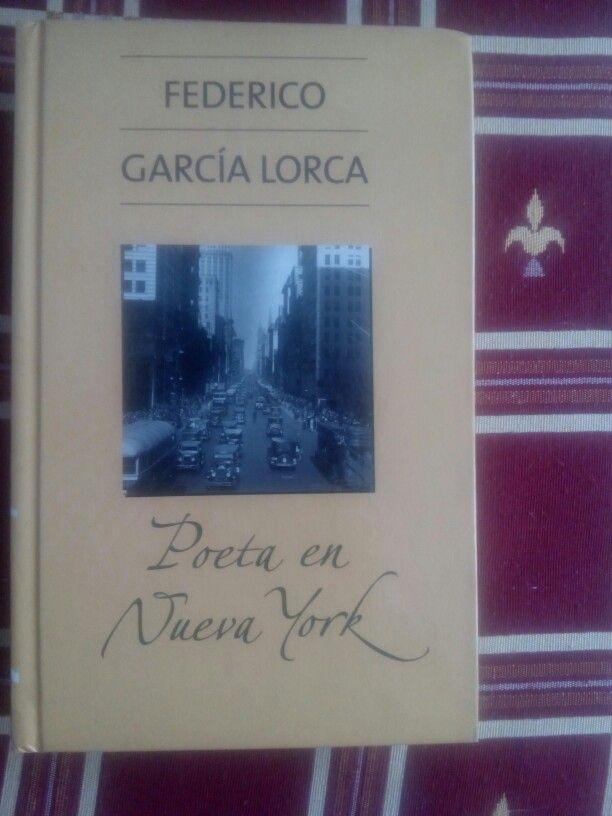Poeta en Nueva York de Federico Garcia Lorca