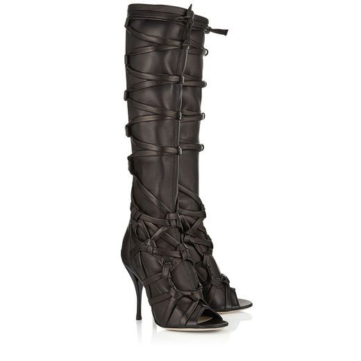 Jimmy Choo: Anneli 110 for $2,395.00. Sexy braun high heels boots. See more boots >>> http://justbestylish.com/the-best-boots-of-this-season/