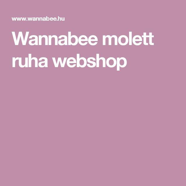 Wannabee molett ruha webshop