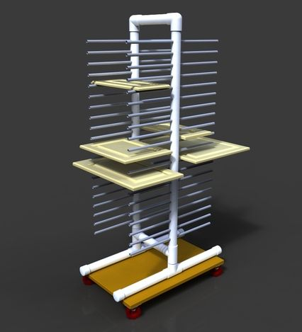 Plans to make a cabinet door drying rack google search - Drying rack for cabinet doors ...