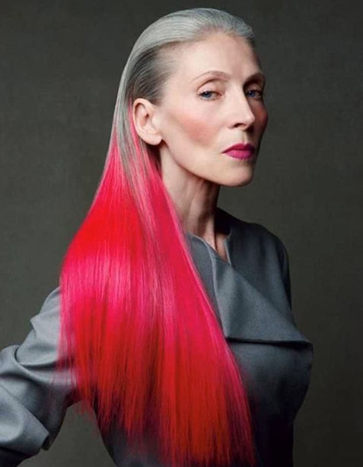 10 inspiring older women proving edgy hair has no age limit