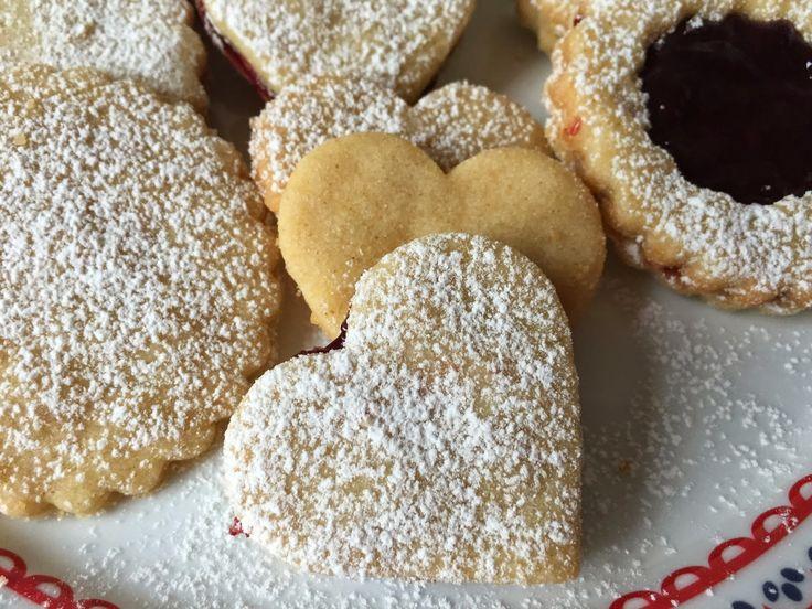 suussasulavat vaniljaiset pikkuleivät - Nikka's Bar - Maidoton, munaton, gluteeniton, pähkinätön keittiö