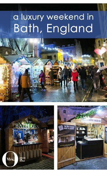 The great Christmas Market in Bath - which is so nice (especially at night!).