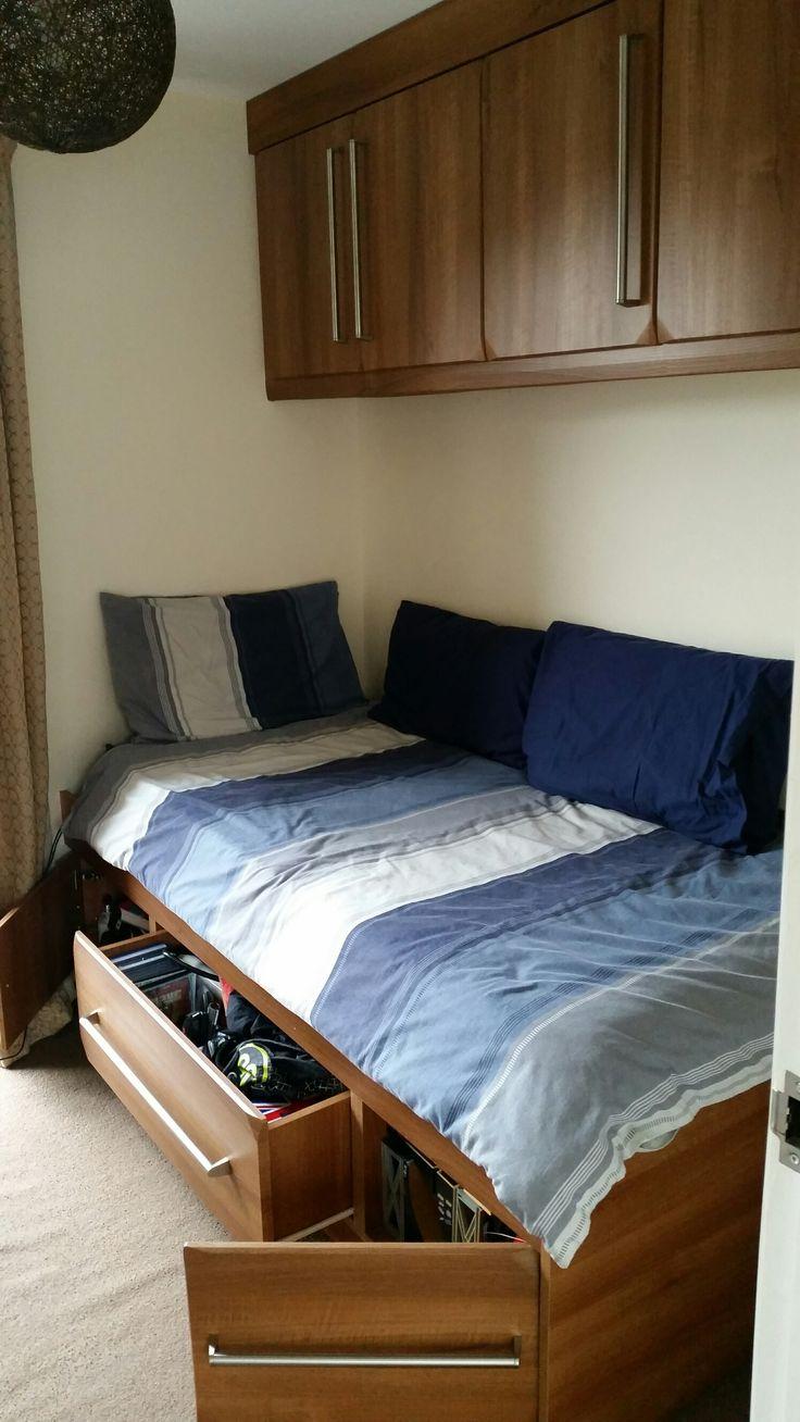 Built in Bed Walnut 1.2