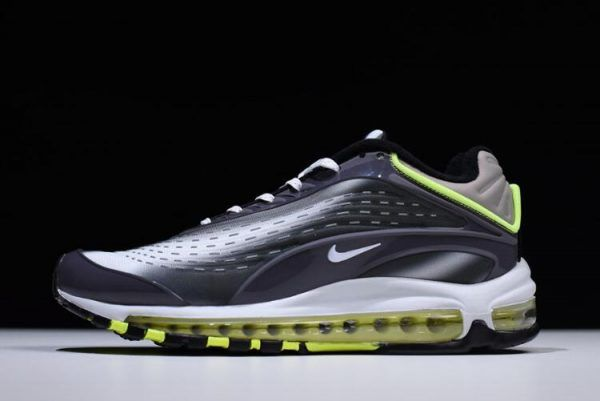 new arrival 89f1a 790ff Men s and Women s Nike Air Max 99 Deluxe TPU Black Fluorescent Green White  ...