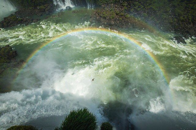 #IGUAZU #RAINBOW by Andreas Adams #Photocircle #photoart from #Brazil #LatinAmerica #iguazuwaterfalls #waterfall #paradise #landscapephotography #landscape #nature #nationalpark #hiking #socent #dogood #purchasewithpurpose #giftsthatgiveback #wallart #homedecor #Closethecircle - if you buy this photo Andreas Adams and Photocircle #donate 12% to provide communities in #Bolivia with better social infrastructure.