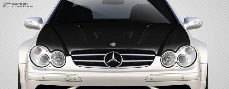 2003-2009 Mercedes CLK W209 Carbon Creations Black Series Look Hood - 1 Piece