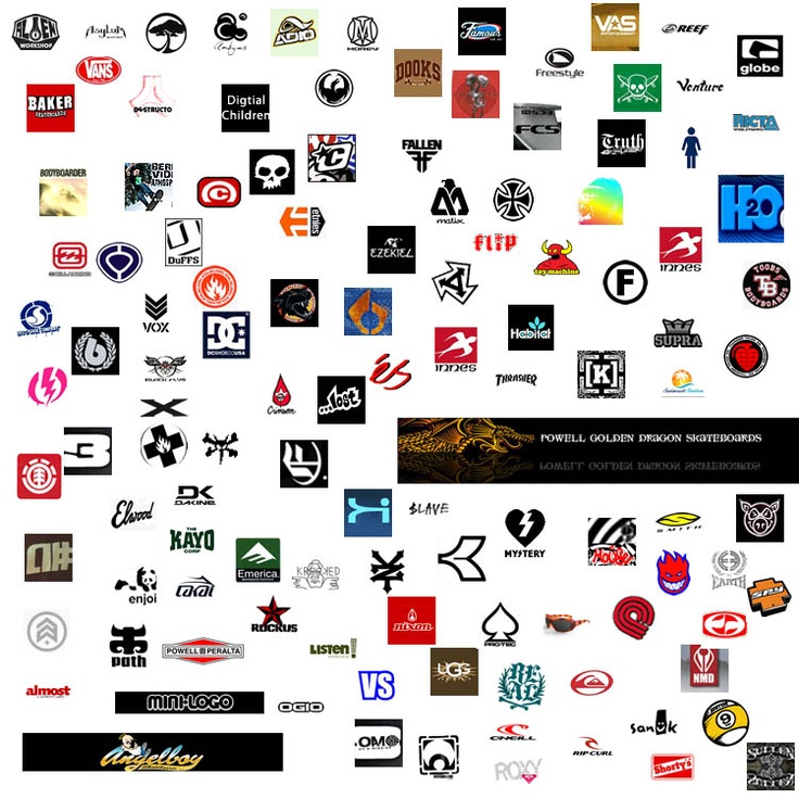 Sports brands logos #surf #sports #logo