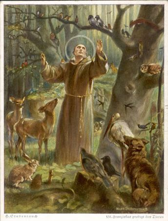 """St. Francis had a simple formula for saving mankind: the imitation of Christ and brotherly love. """"All created things,"""" he said, """"are our brothers and sisters because we all have the same father."""""""