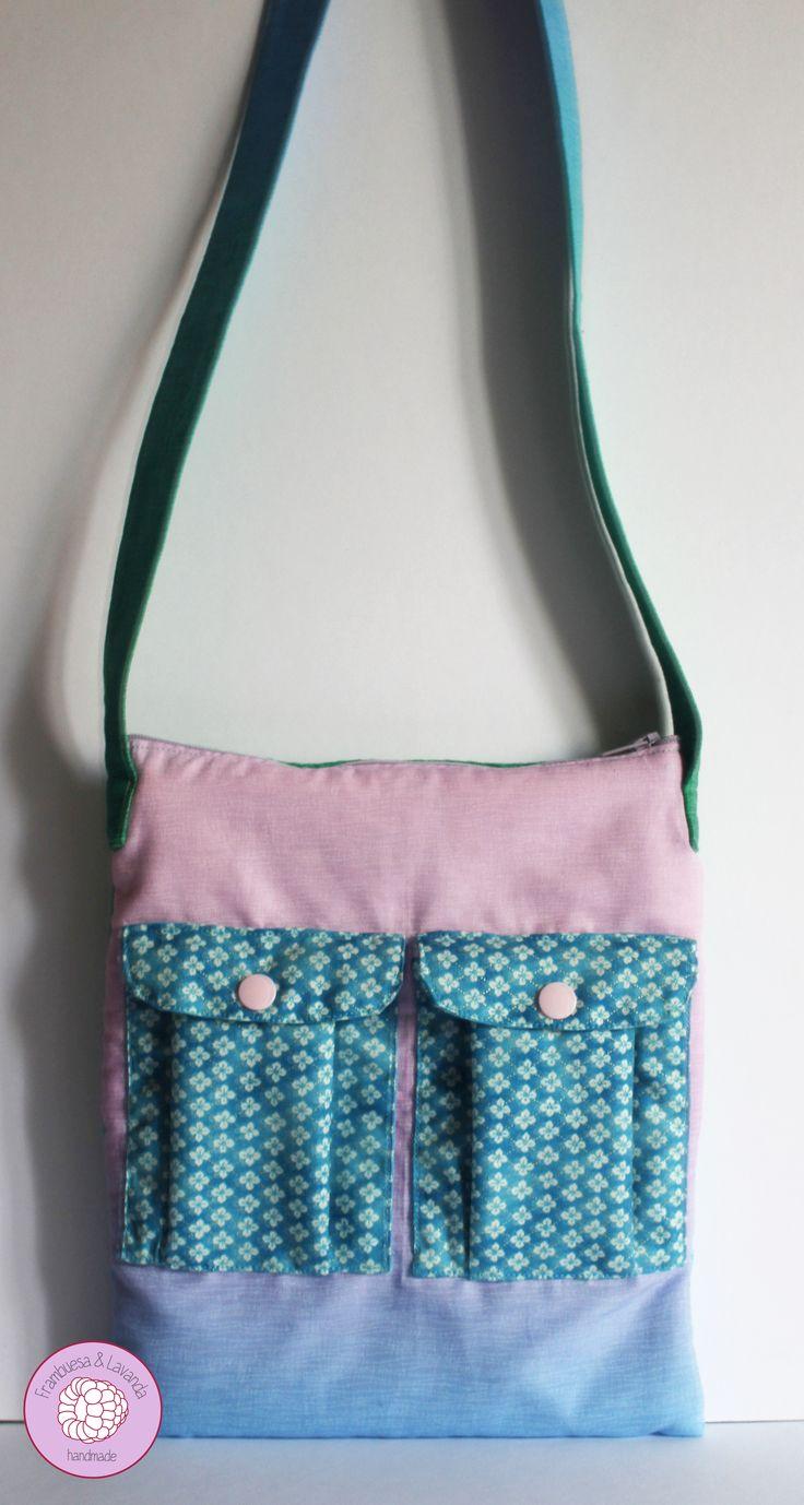 #bolsos #handmade #bandolera #girl #handbag #patchwork #costura